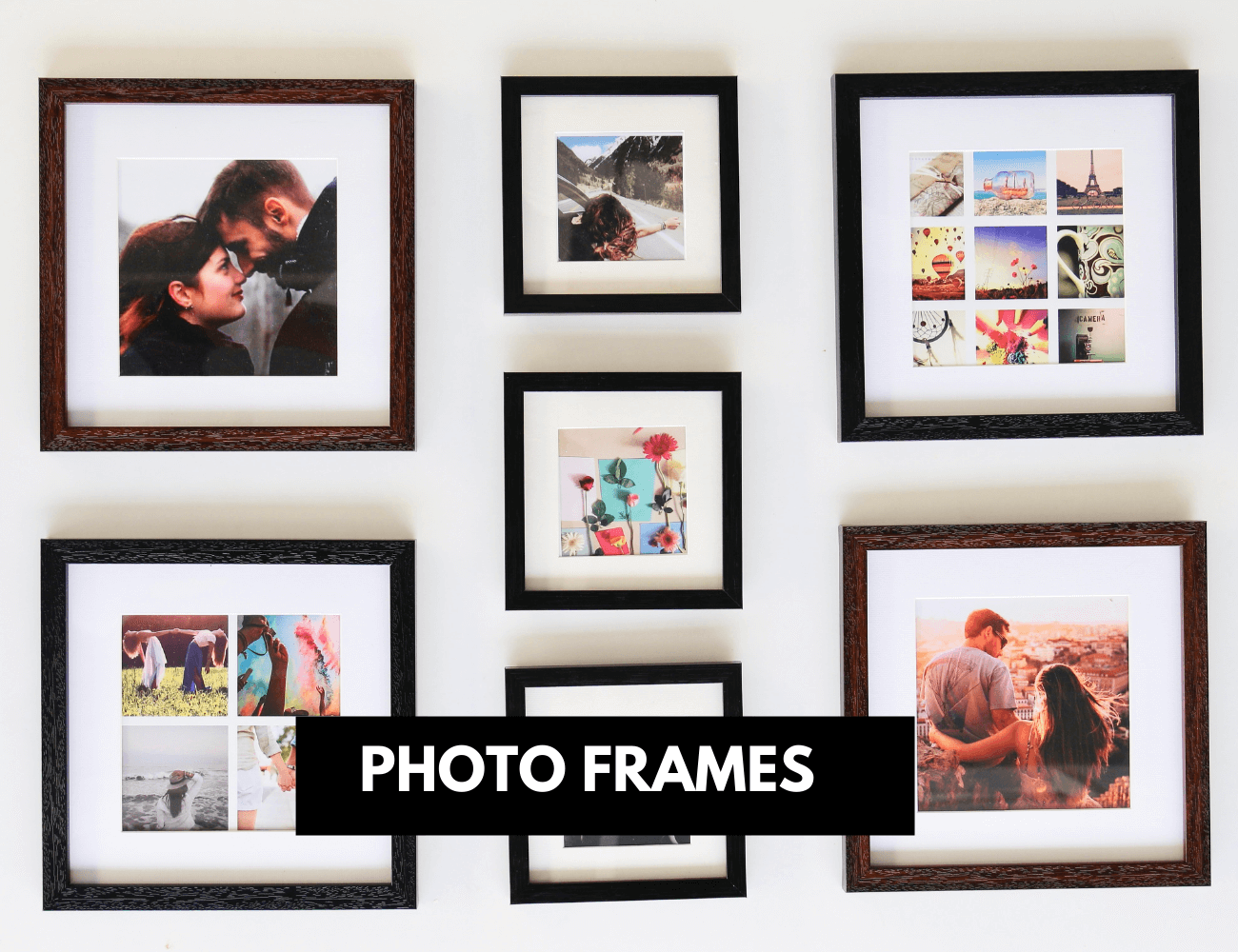 Online printed photo frames with prints
