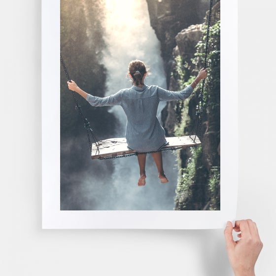 high quality print used for wall decor