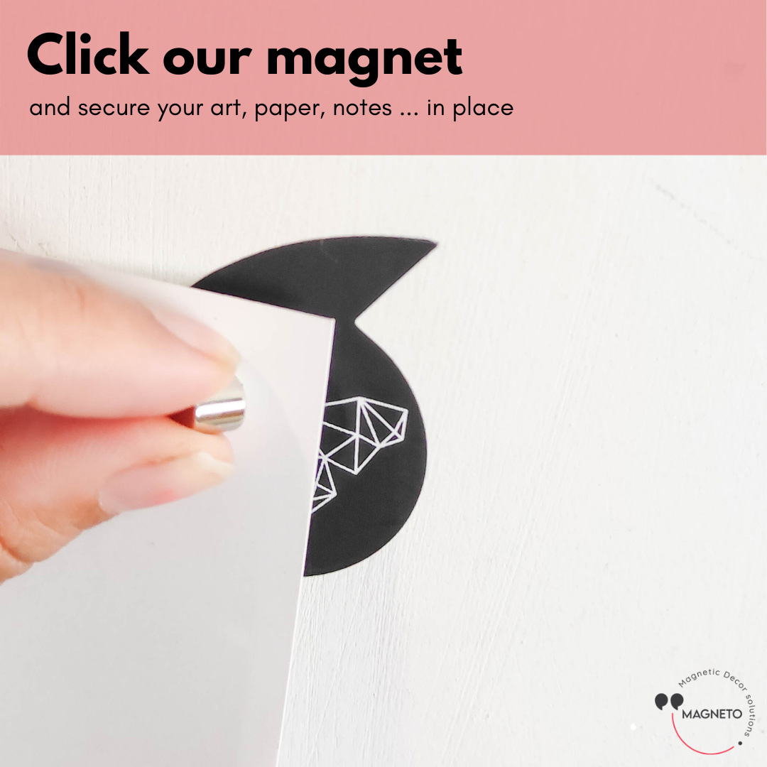 click magnet onto the photo
