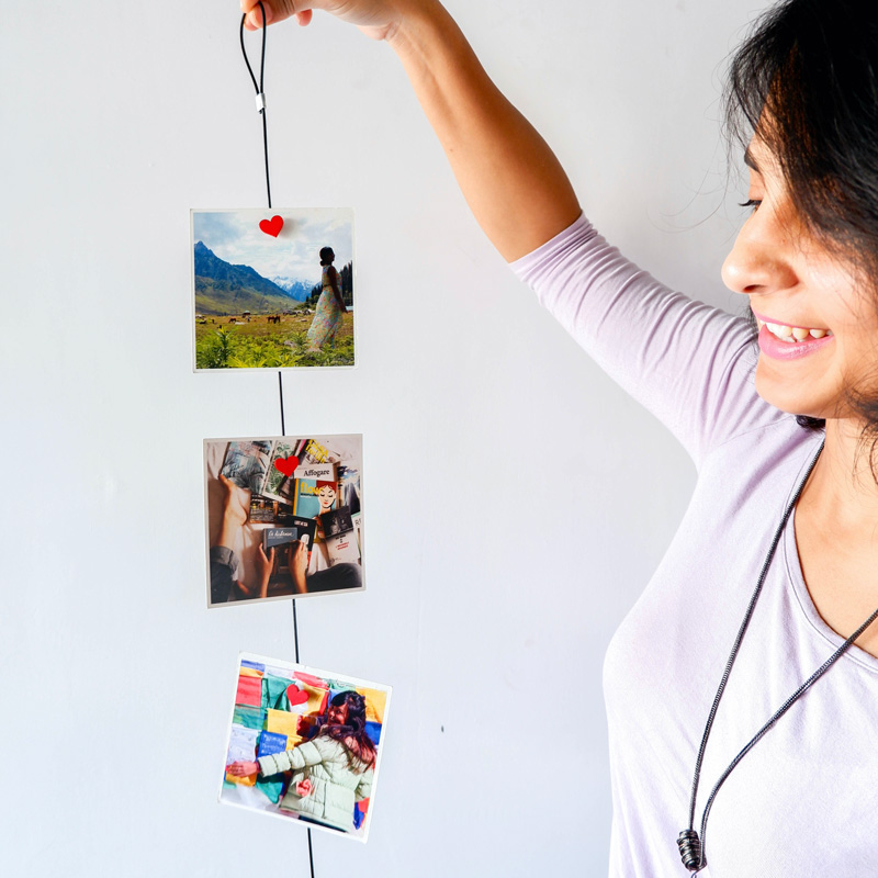 personalised and customised photo magnets